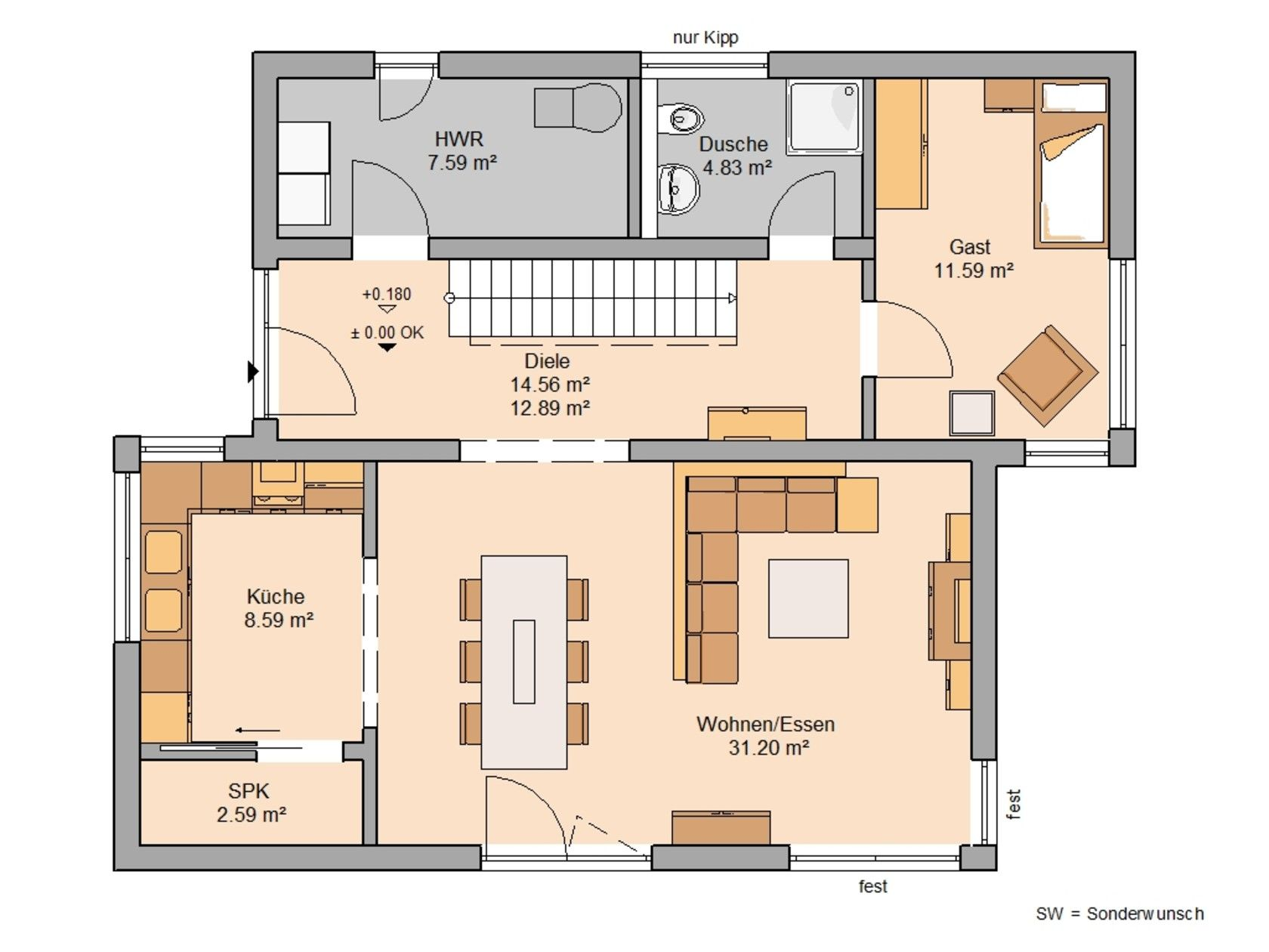 Familienhäuser Haus, Haus grundriss und Familienhaus