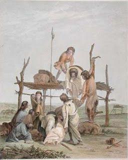 Cheyenne Indian Scaffold Burials