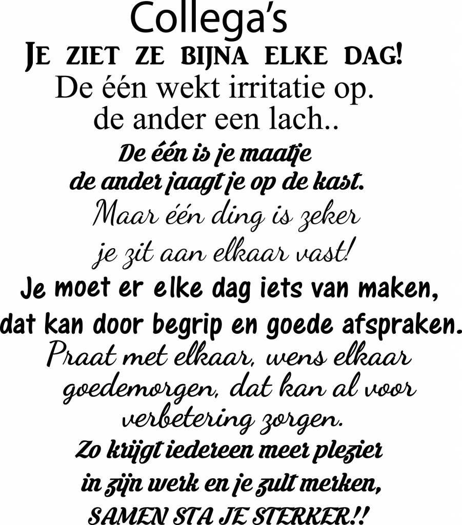 spreuken verpleegkundige Muursticker collega's | Muursticker4sale.nl | Wendy | Pinterest  spreuken verpleegkundige