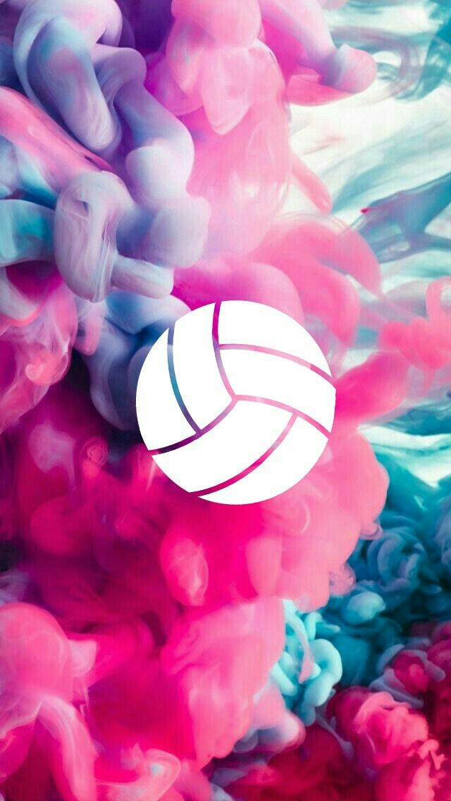 Show Your Friends How Aesthetic And Good At Volleyball You Are Volleyball Wallpaper Volleyball Backgrounds Volleyball