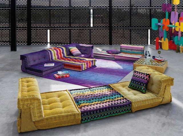 roche bobois floor cushion seating. chauffeuse jaune roche bobois parlor roomfloor seatingles floor cushion seating o