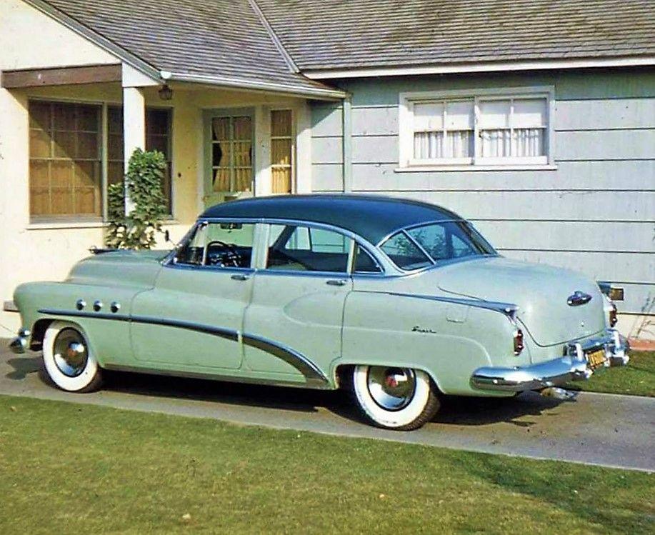 1952 Buick Super 4door sedan Buick, Classic cars, Sedan