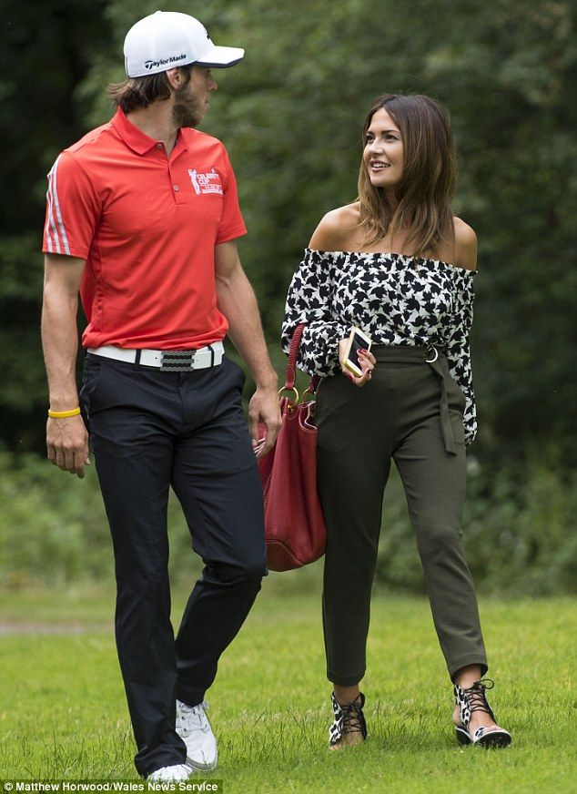 Gareth Bale and girlfriend lead the stars at Celebrity Cup