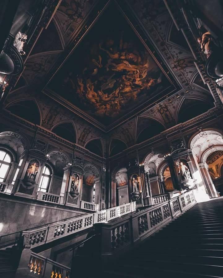history museum vienna austria gotik mimari