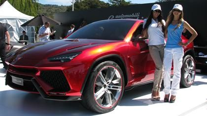 A Lamborghini SUV?: Urus makes its U.S. debut