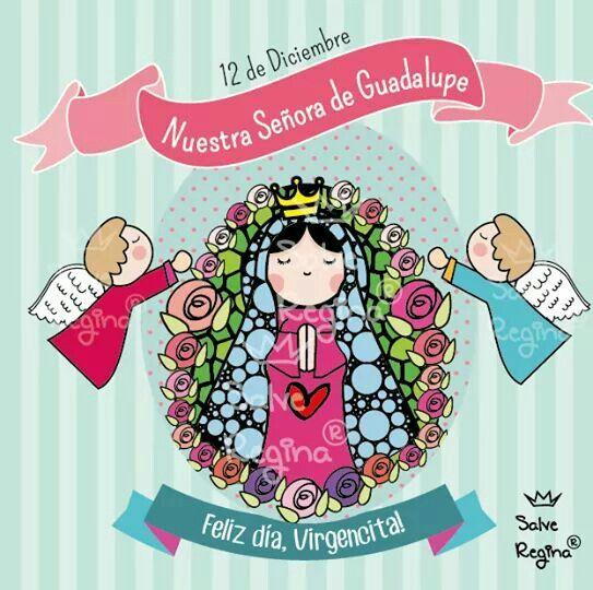 12 Dic Virgencita De Guadalupe Virgen Porfis Virgen De Guadalupe Virgencita