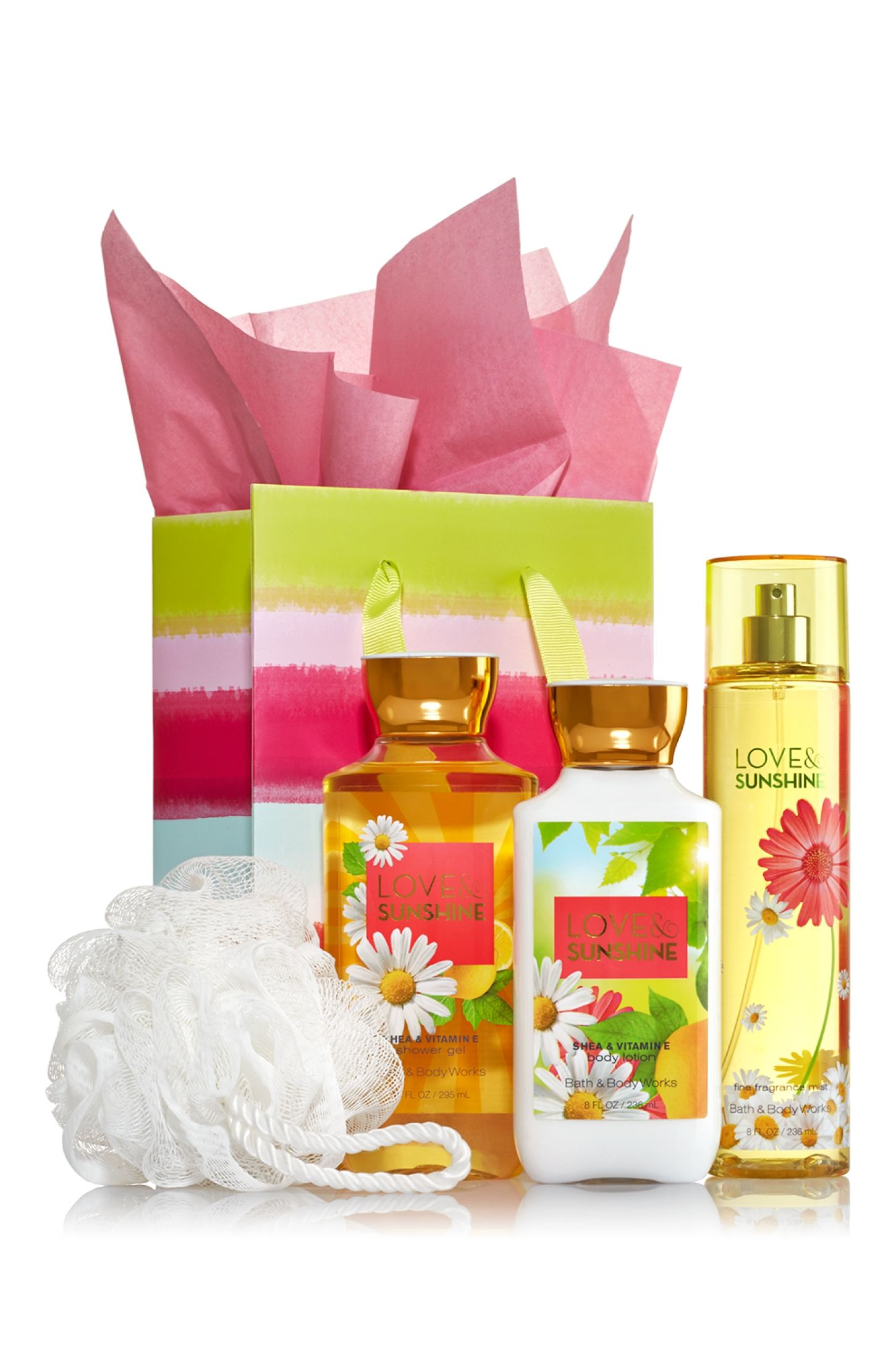 Love Sunshine The Daily Trio Gift Kit Signature Collection