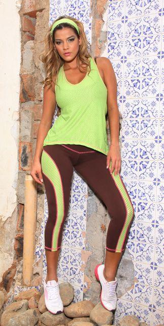 91af5413ca2a Tiempo Libre Set  3 pieces - Bootyfits by Yanina Sportswear - Sexy Workout  Clothes - Gym