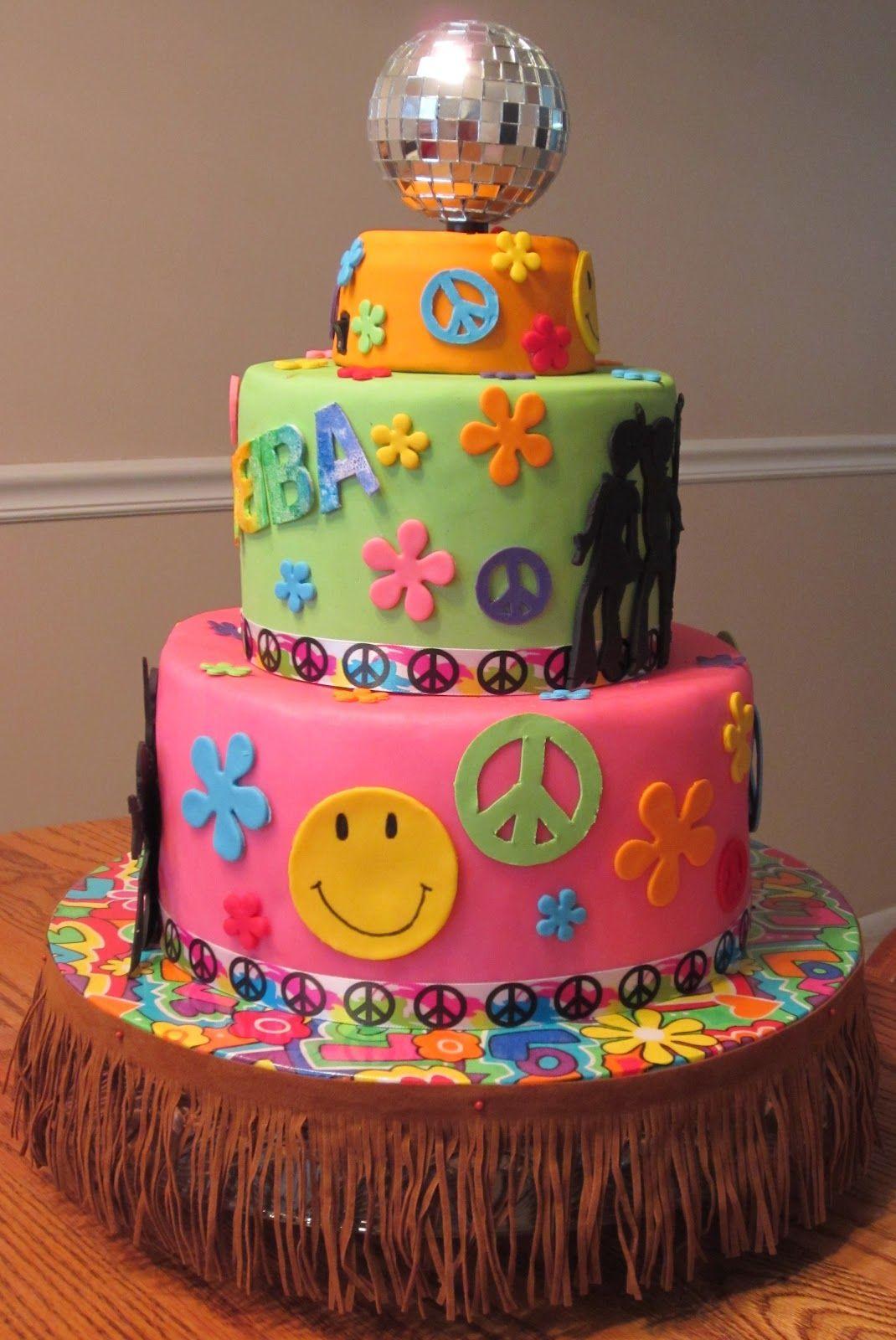 70s cake