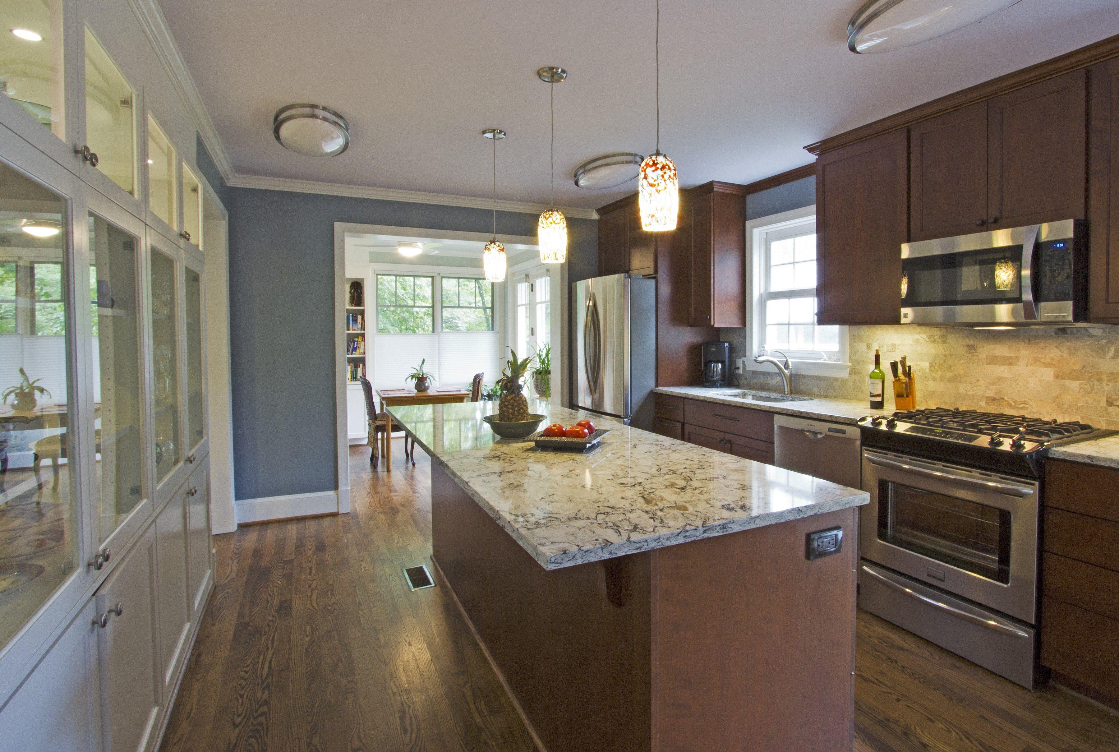 contemporary galley kitchen designs lights for kitchen ...