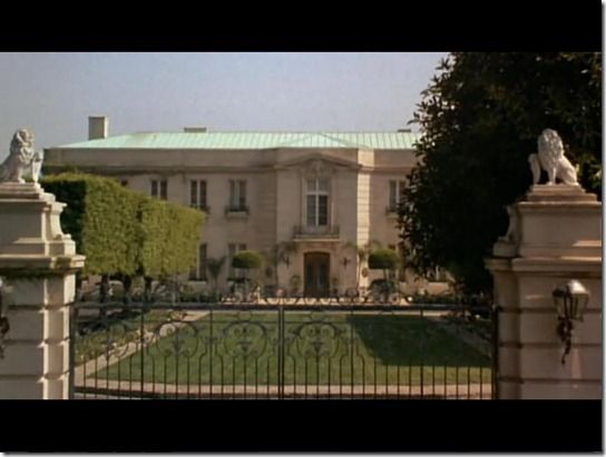 The Kirkeby Mansion From The Beverly Hillbillies Mansions French Style Architecture The Beverly Hillbillies