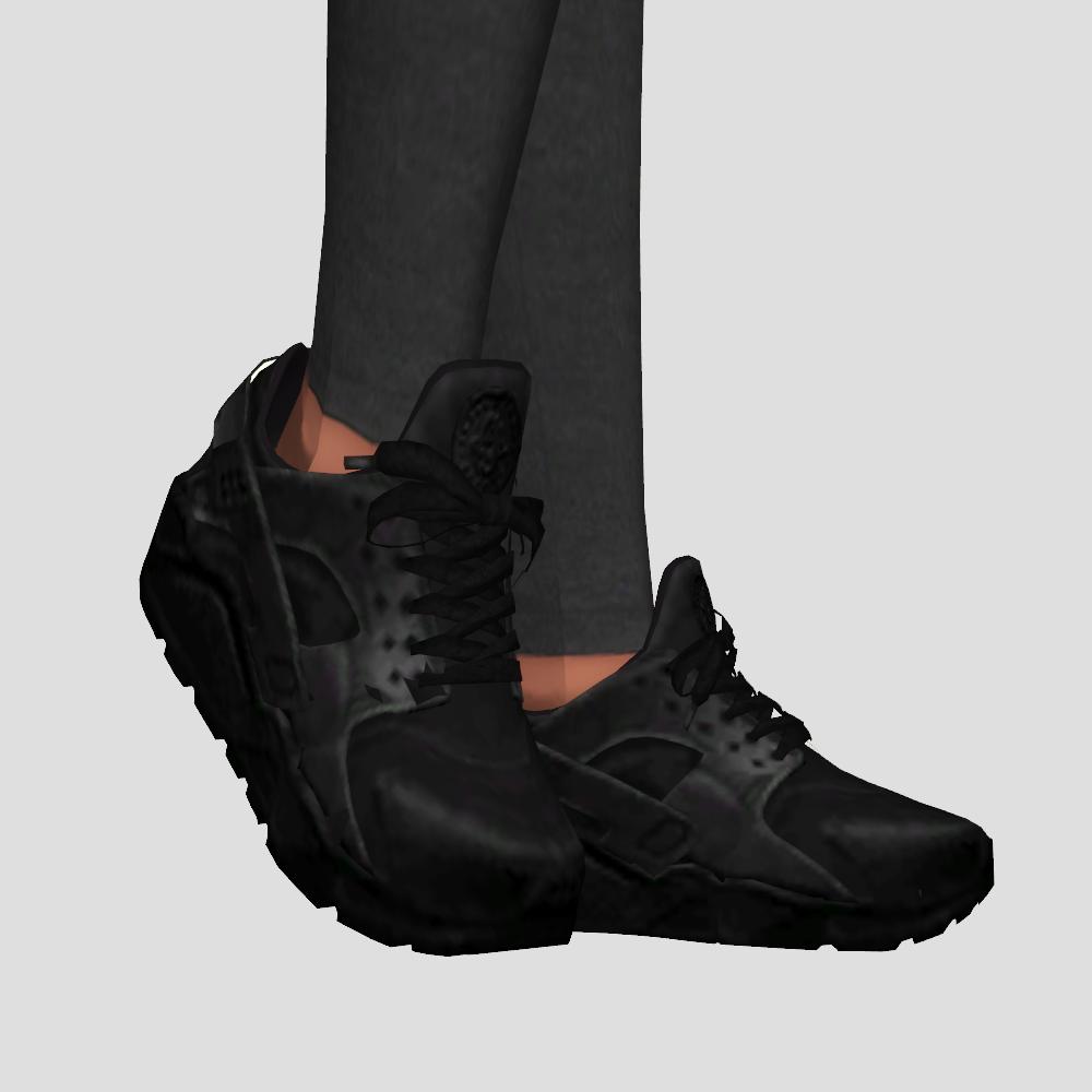 Nike Huarache   snailrow   Nike shoes for boys, Sims 4 cc shoes ...