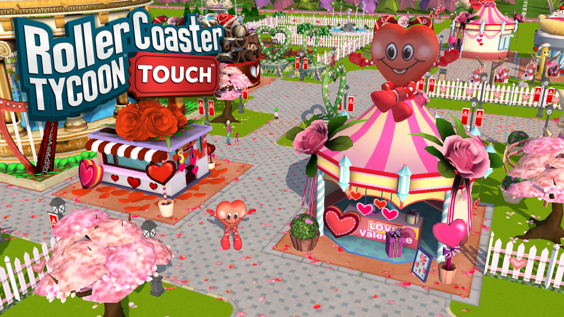 RollerCoaster Tycoon Touch in 2020 Roller coaster