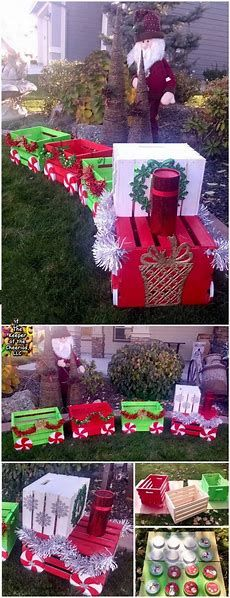 Risultato immagine per Large Outdoor Christmas Decorations DIY