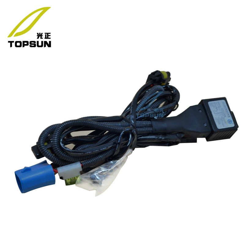 12V 35W 55W Relay Harness BI Xenon Bulbs 9004 HB1 9007 HB5 Wire