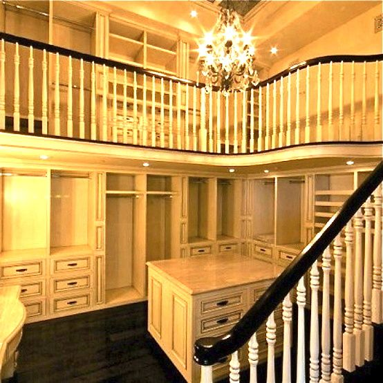 Two Story Closet! By The Beard Of Merlin I Vow To Have This In My