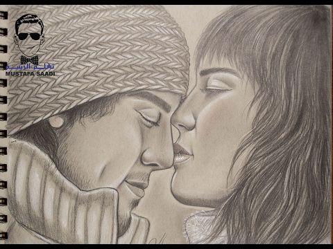 How To Draw By Mustafa Saadi Drawings Art Love Drawings