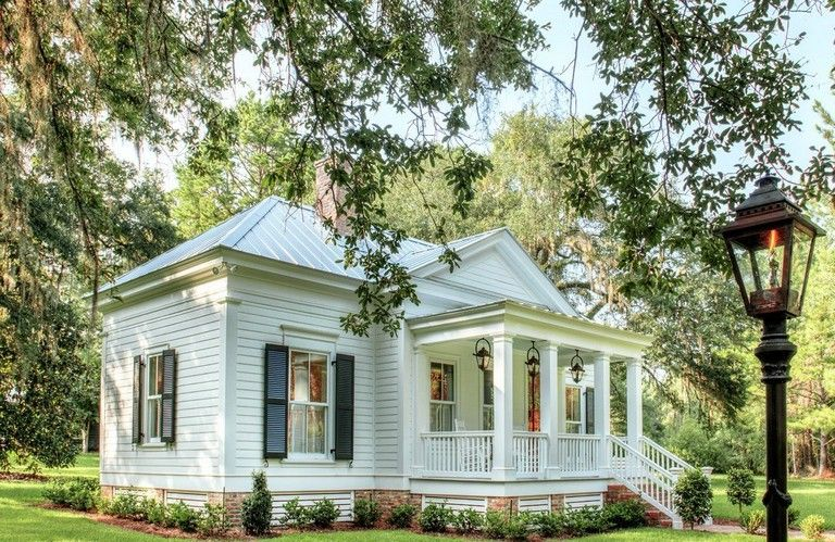 47 Cozy Totally Inspiring Cottage Designs Ideas Can Copy Page 44 Of 49 In 2020 Cottage Design Southern Cottage White Houses