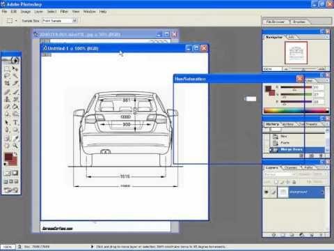 01 3ds max car tutorial Audi a3 Blueprints Photoshop 1of17 3D - fresh e blueprint denver
