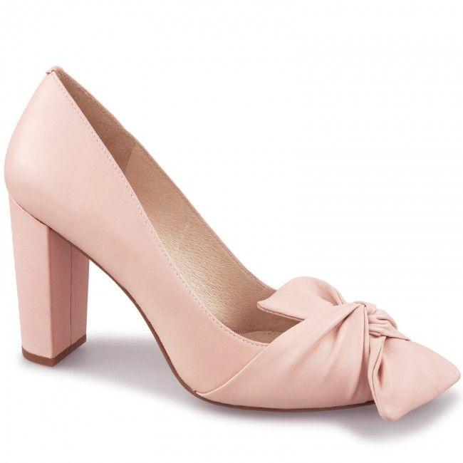 21c3ef2853c Wittner Her Pump Pink Leather | Shoes & Sandales | Pumps, Pink pumps ...