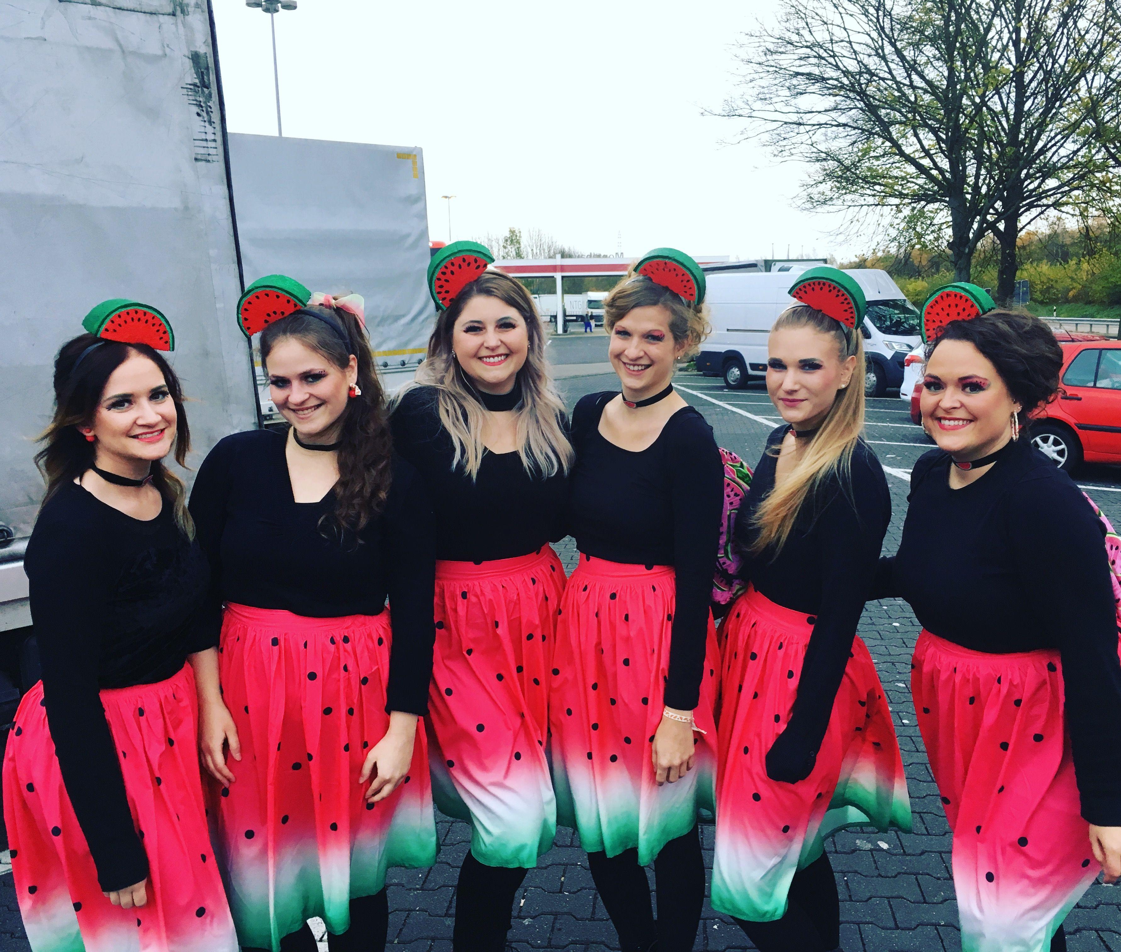 karneval kostüm damen ausgefallen früchte