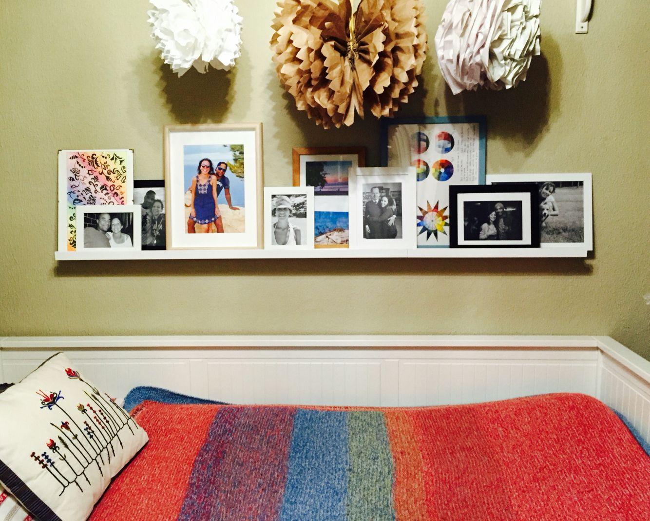 #painting #pictures #memories #photos #bedroom #boho #colors #interior #design #decor