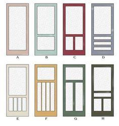 screen doors | Traditional Wood Screen Doors with the Slam Built In | Historic Shed  sc 1 st  Pinterest & screen doors | Traditional Wood Screen Doors with the Slam Built ... pezcame.com