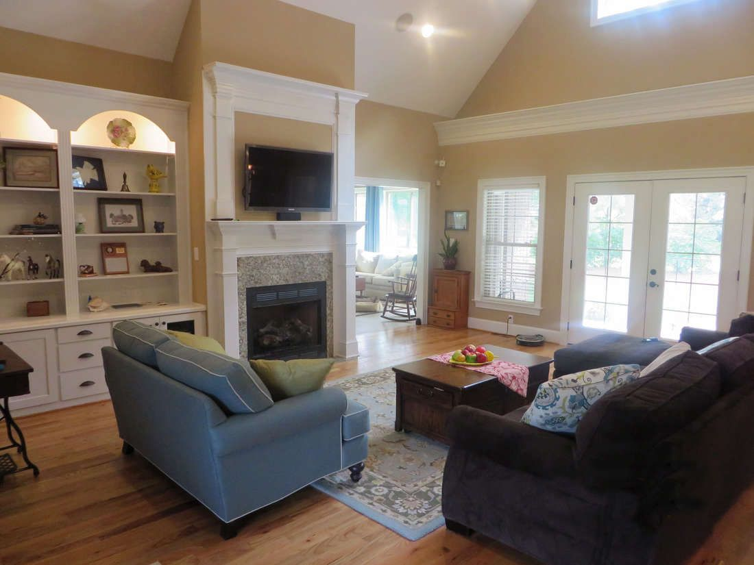 Great Room The Peyton House Plan #1289 | HOME PLANS | Pinterest ...