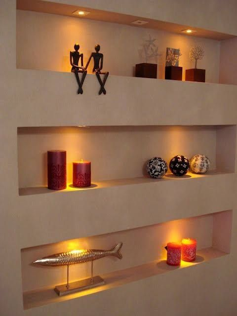 Decoraciones para tu casa que puedes hacer con tabla roca for Decoracion led hogar
