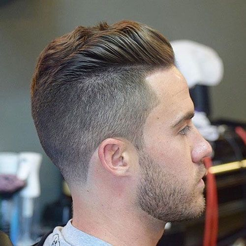 Best Haircuts , Undercut with Brushed Back Wavy Hair