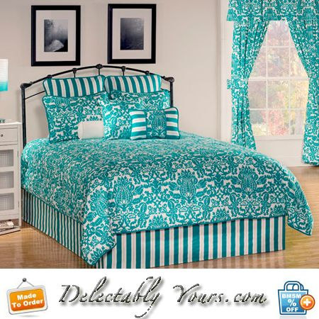 Turquoise Bedding Collections Waldorf White Comforter Duvet Platform