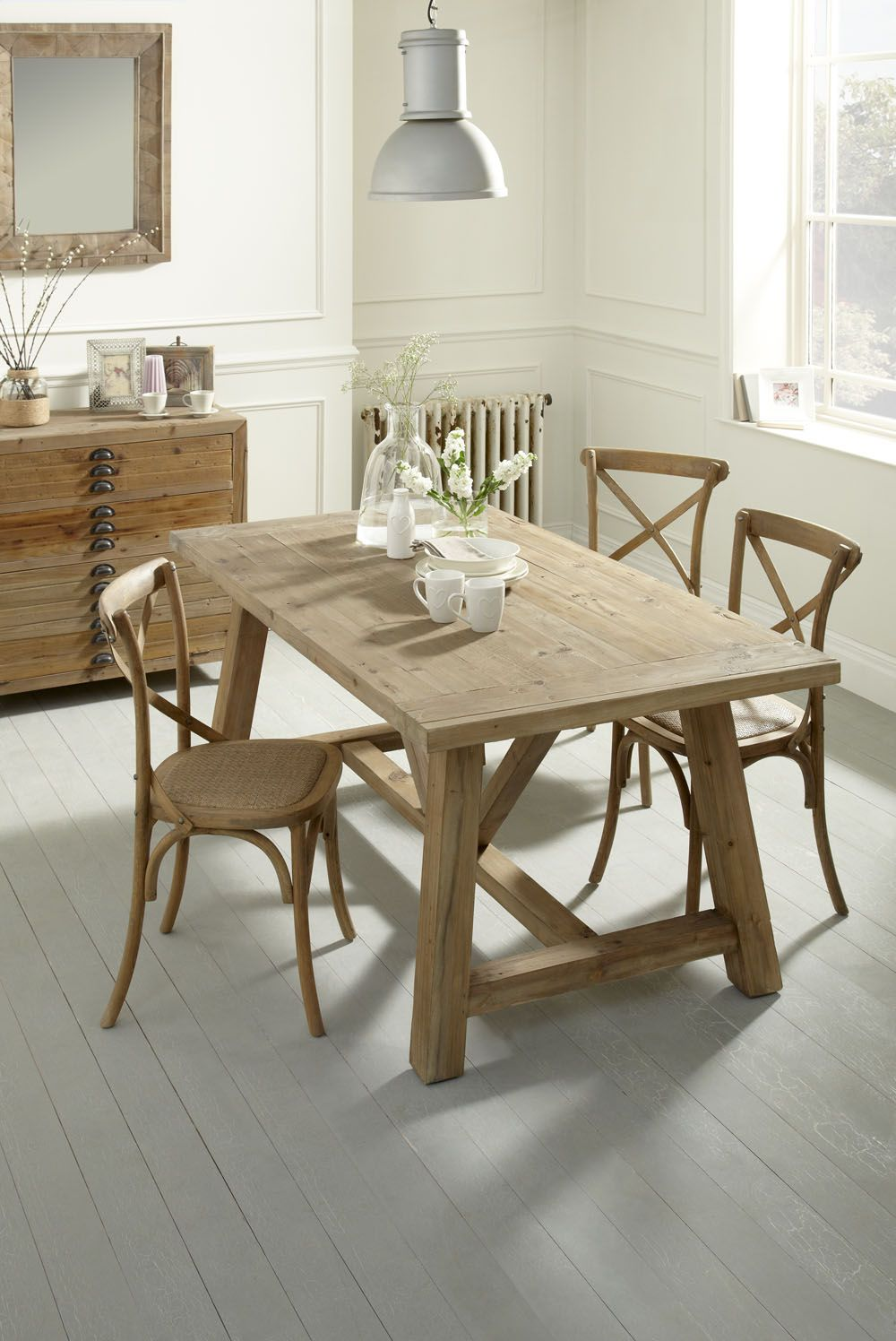 Reclaimed kitchen table  Samui Dining Table  Reclaimed fir dining table Loving every single