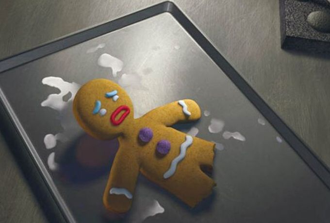 Gingy Being Tortured By Lord Farquaad Gingy Pinterest Shrek
