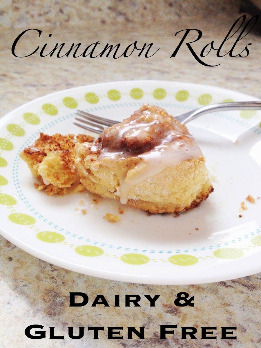 #DairyFree #GlutenFree Cinnamon Rolls!