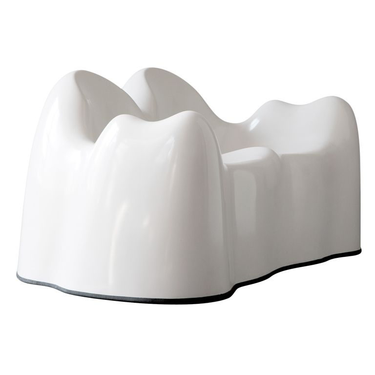 Quot Molar Group Quot White Settee By Wendell Castle Usa Circa