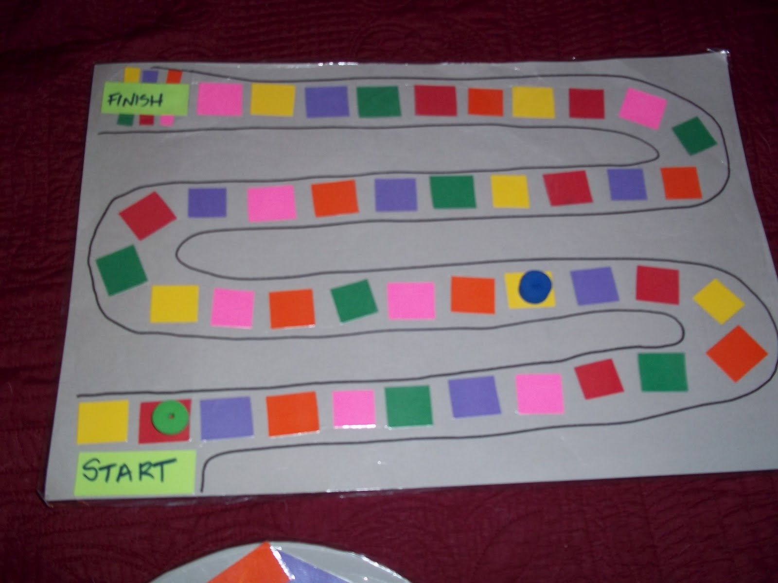 spinner board game Google Search Homemade board games