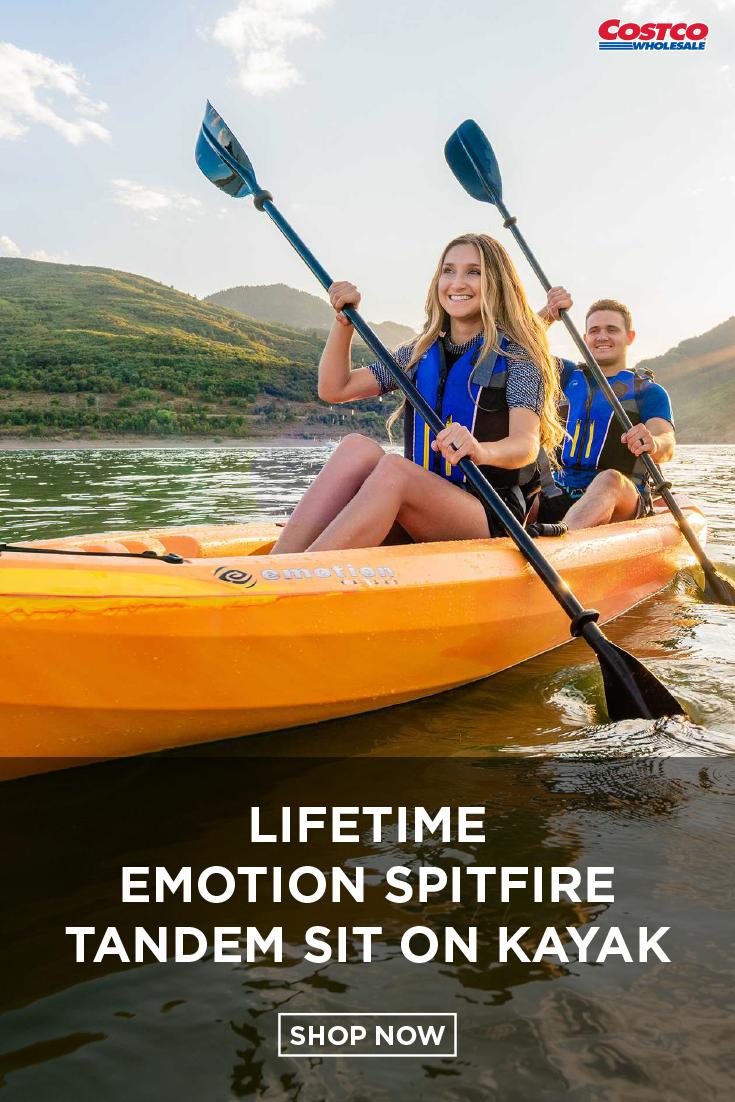 Lifetime Emotion Spitfire 12' Tandem Sit On Kayak | What's