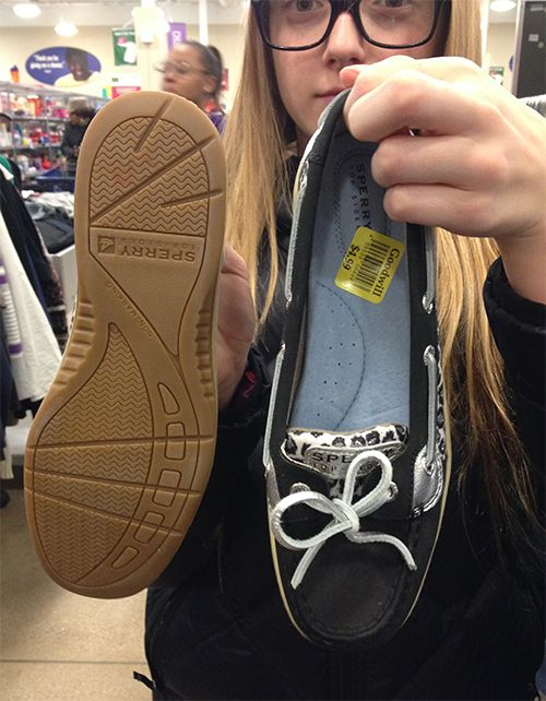 67f1d28840119 Like new  Sperry Top-Siders found at the Wauwatosa store for  4.99!