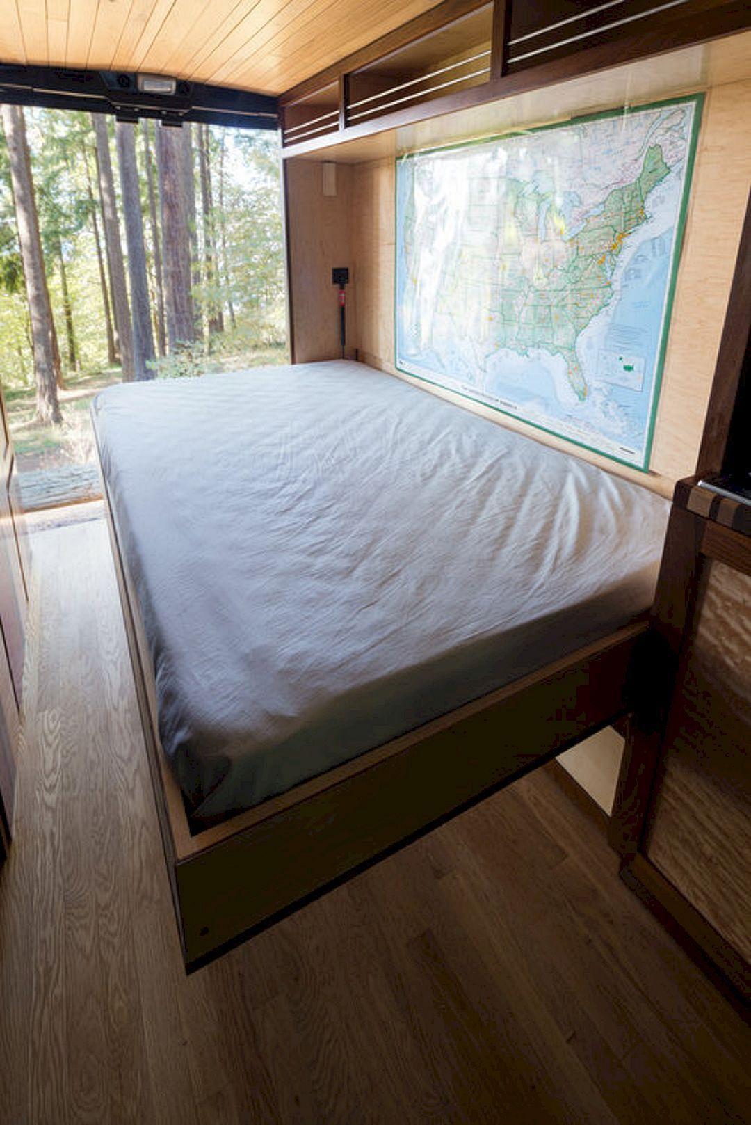 60 Impressive Interior Design and Decor Ideas for Camper Van