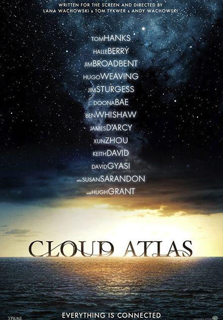 Primer Poster De Cloud Atlas