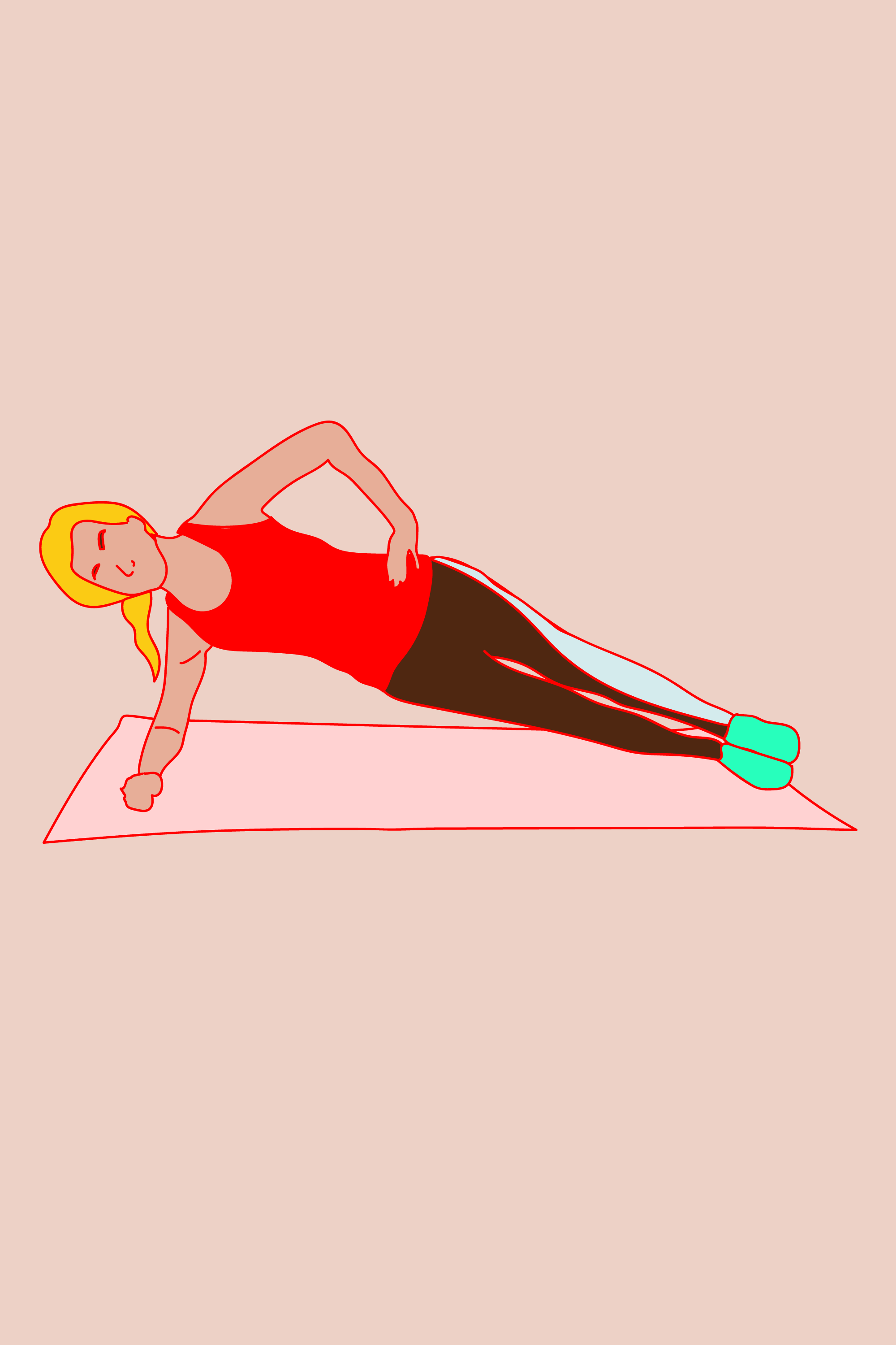 The Best Abs Exercises You're Not Doing #refinery29  http://www.refinery29.com/best-abs-workouts#slide-15  Side Planks (cont.)Press the side of your foot into the floor to pop up, so you're resting on that foot and the forearms; extend the top arm along you body (easier) or up to the sky (harder). If this is too tough to hold for at least 10 seconds, come down and bend the lower leg; pop up again so you're resting on the side of the knee and the forearm. If the straight-leg version...