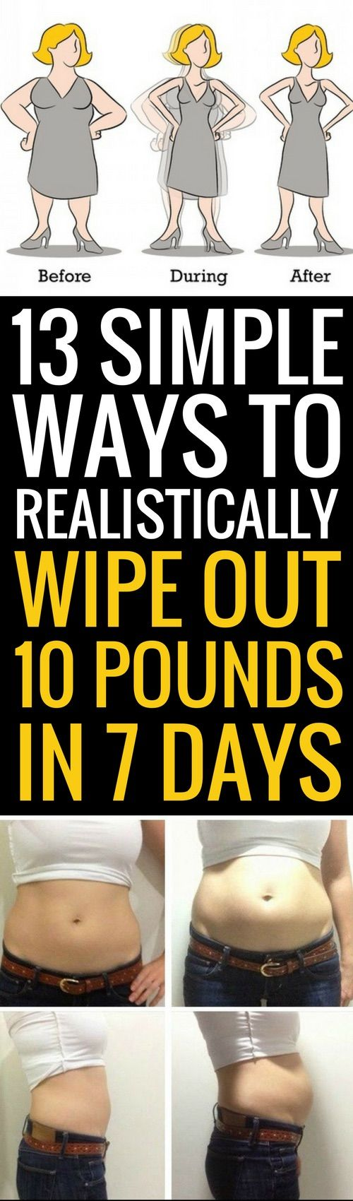 13 ways to realistically lose 10 pounds in 7 days weight loss 13 ways to realistically lose 10 pounds in 7 days ccuart Gallery