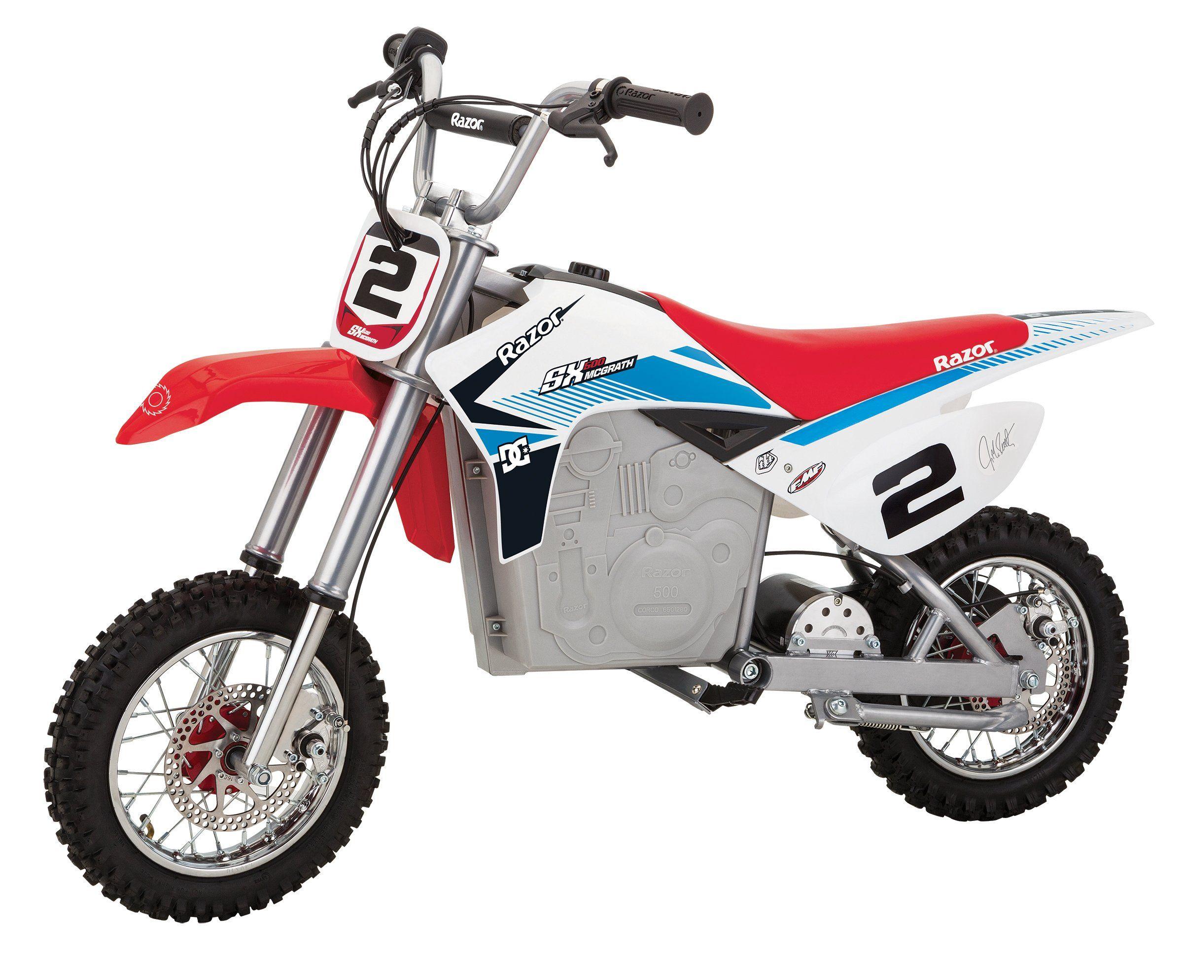 Advertisement Ebay Razor Mx350 24 Volt Dirt Rocket Electric Motocross Bike Black Distressed Packa Motocross Bikes Motocross Bike Experience