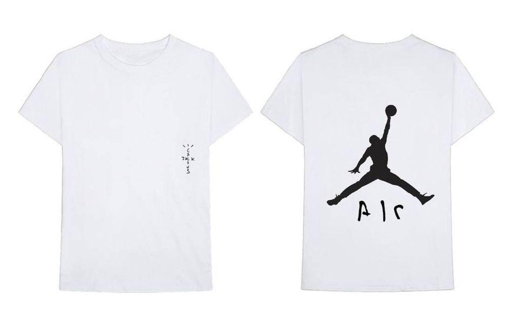 88671a989bbb1d CACTUS JACK X JORDAN SHIRT 4 White Sz L In Hand TRAVIS SCOTT ASTROWORLD  Large  fashion  clothing  shoes  accessories  mensclothing  shirts (ebay  link)