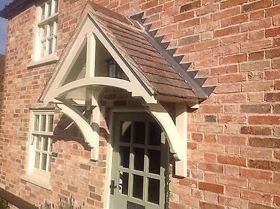 Timber front door canopy/porch made to measure & Timber front door canopy/porch made to measure | Front door canopy ...