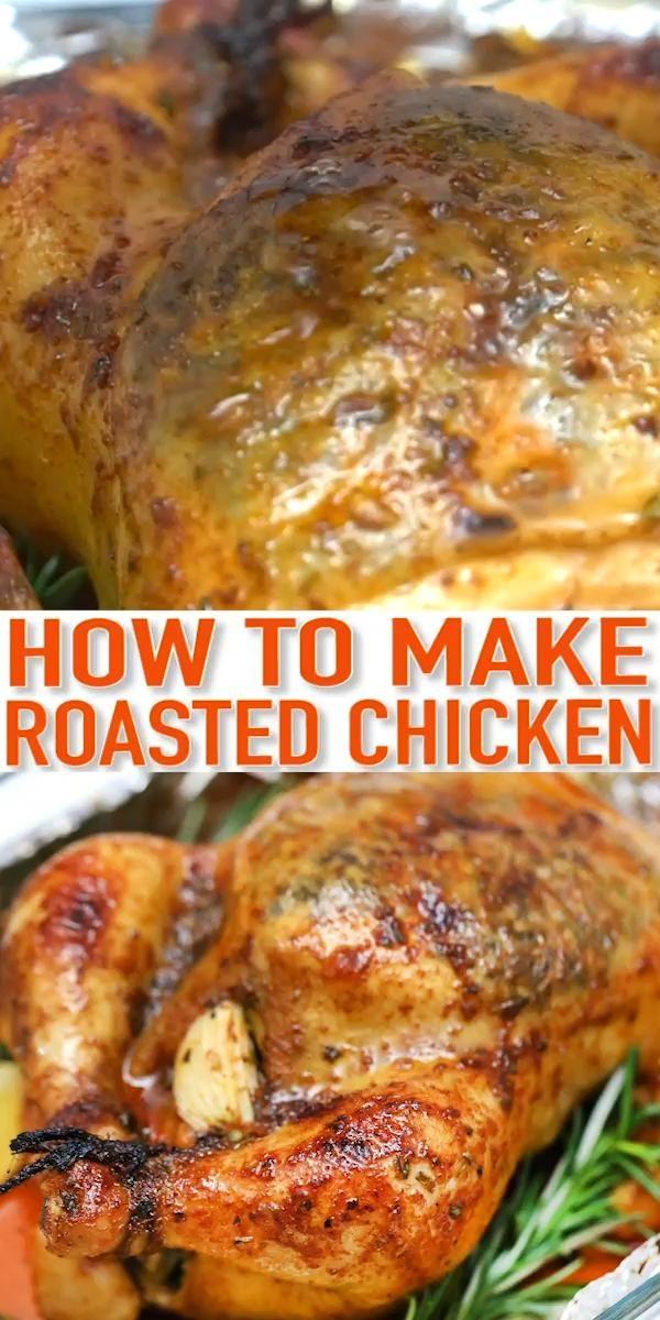 Roasted Chicken with Garlic Butter – Classic Sunda