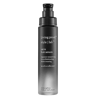 A hair serum without oil or silicones? Living Proof Satin ($29) is genius!