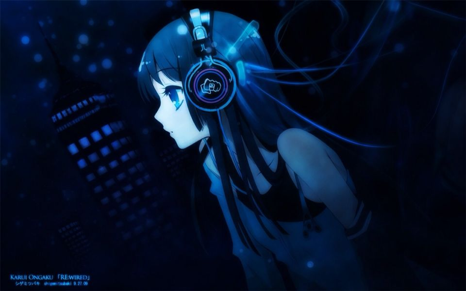 Anime Music Night Lights With Images Hd Anime Wallpapers 1080p Anime Wallpaper Anime Music