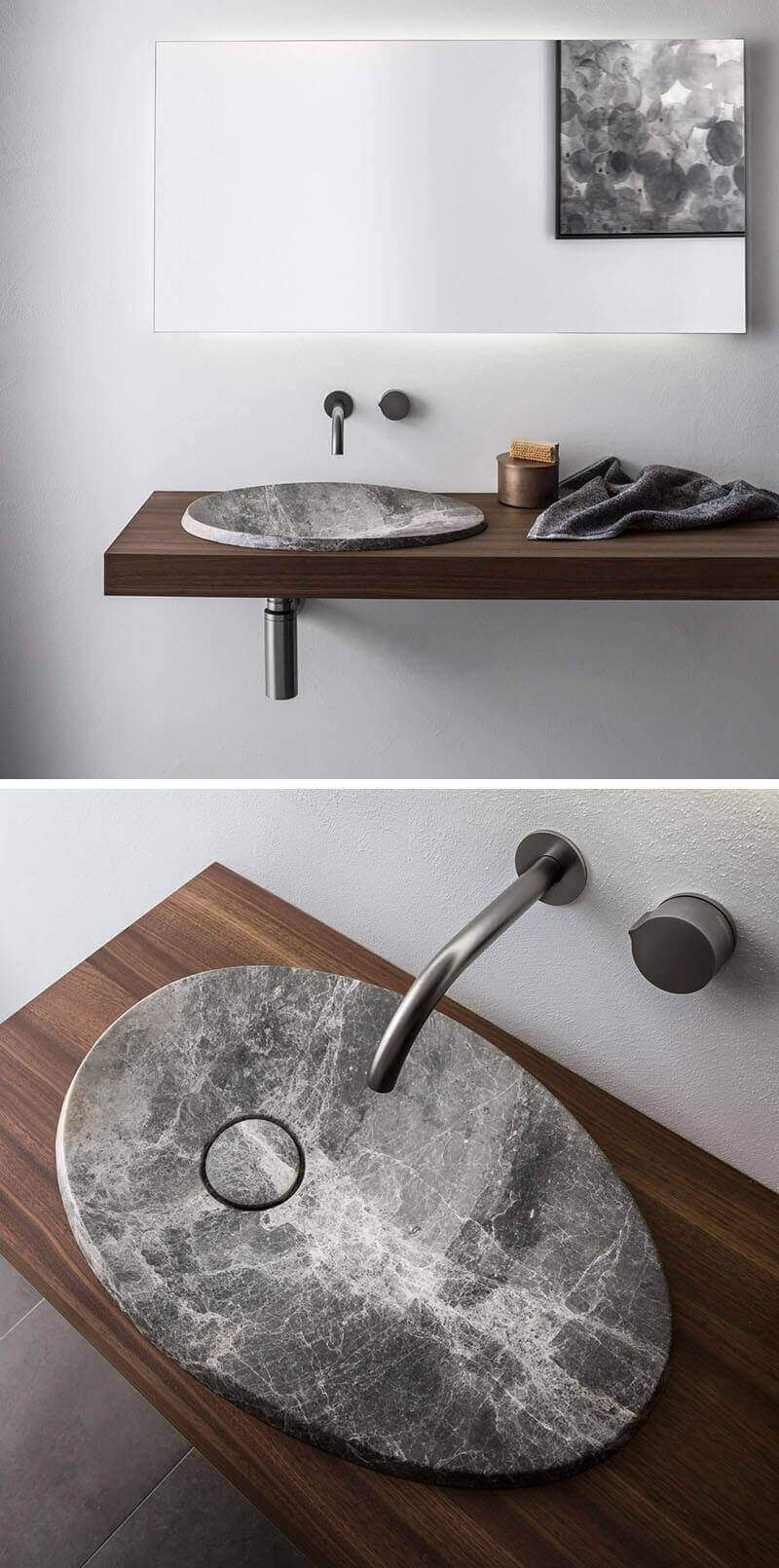 Stone Sinks Best Bathroom Sink Ideas Designs Unique Bathroom