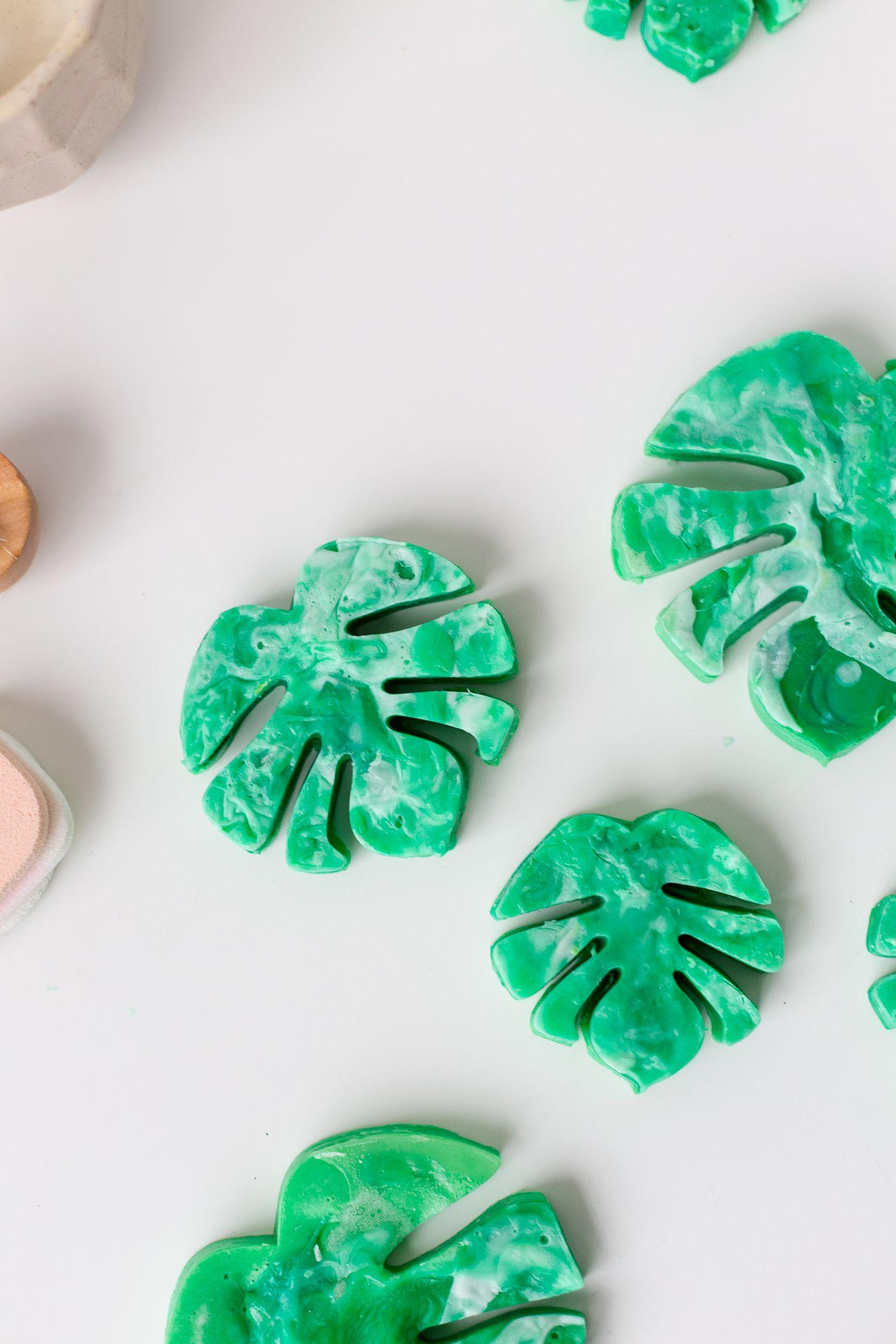 Швейцарское мыло с листьями сыра Monstera DIY |  Падение для DIY